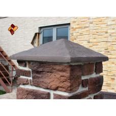 Крышка для столба КС-2 декоративный камень