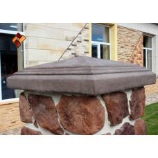 Крышка для столба КС-3 декоративный камень