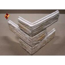 Древесный кирпич угловой элемент кп декоративный камень