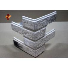 Малый кирпич угловой элемент кп декоративный камень